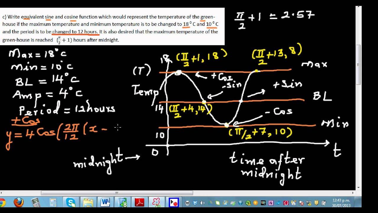 High School Trigonometry/Applications of Right Triangle Trigonometry