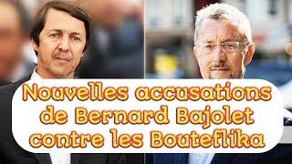 Nouvelles accusations de Bernard Bajolet contre les Bouteflika