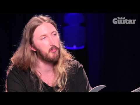 Feared/The Haunteds Ola Englund talks Washburn Parallaxe Solar 6- and 7-string guitars