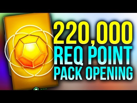 220,000 REQ Point Spending Spree! Halo 5 Guardians Pack Opening!