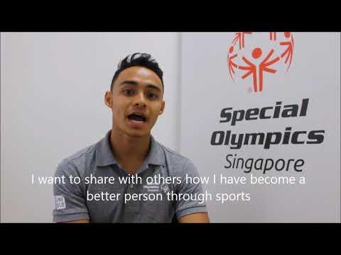 Athlete Leader Suhairi Suhani application for Sargent Shriver International Global Messengers