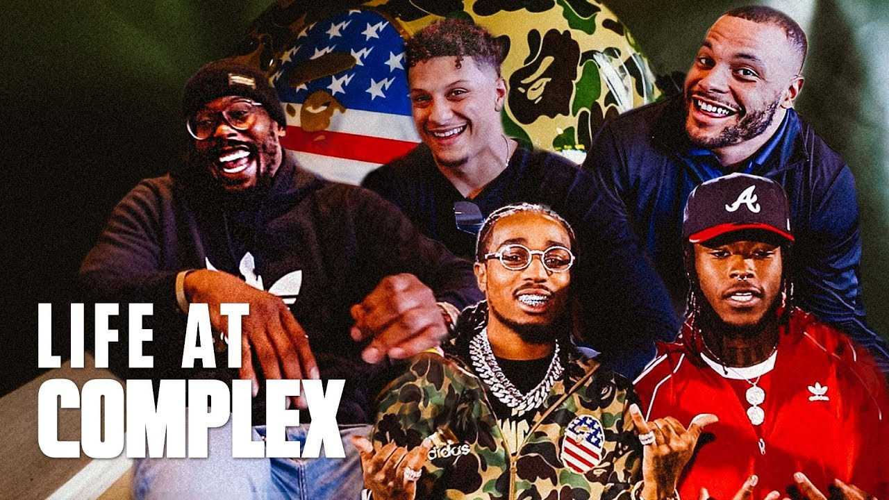 NFL Players Share Thoughts On Bape Superbowl Collab! | #LIFEATCOMPLEX