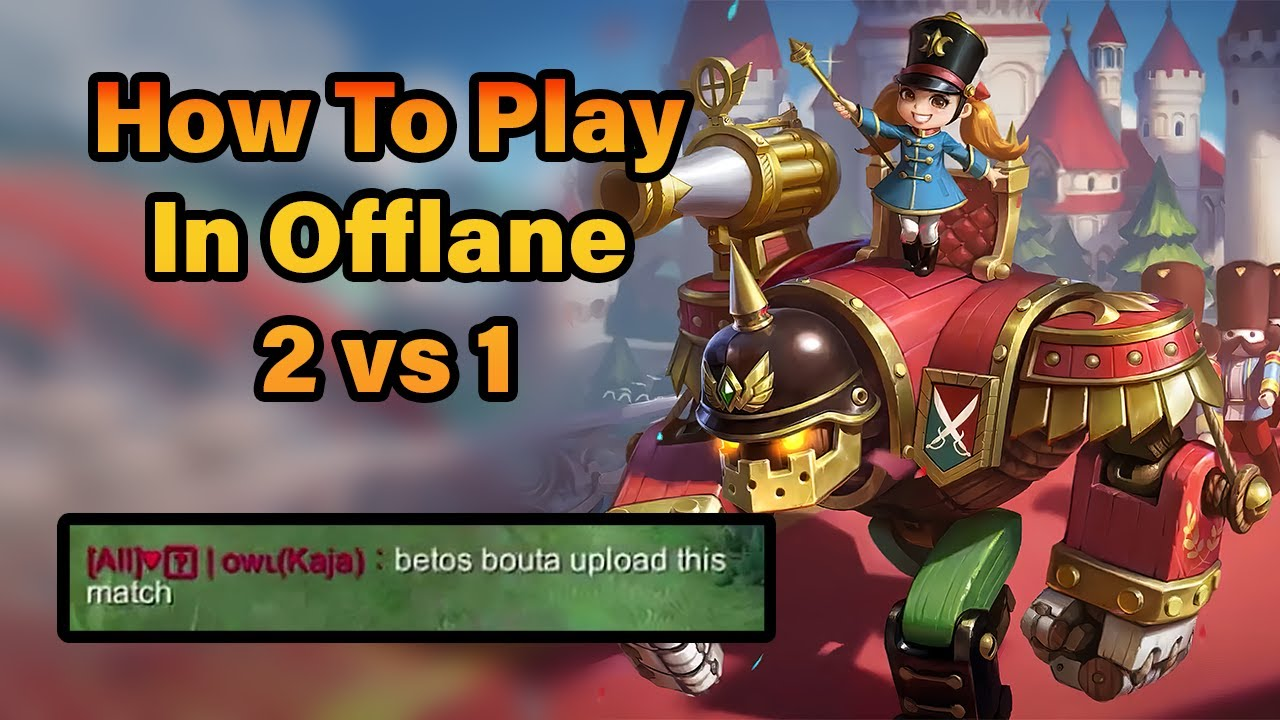 Troubled Playing In Offlane 2v1? Then Watch This - Jawhead Tips & Tricks   MLBB