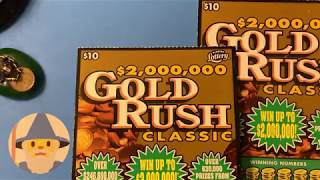 $10 gold rush classic florida lottery
