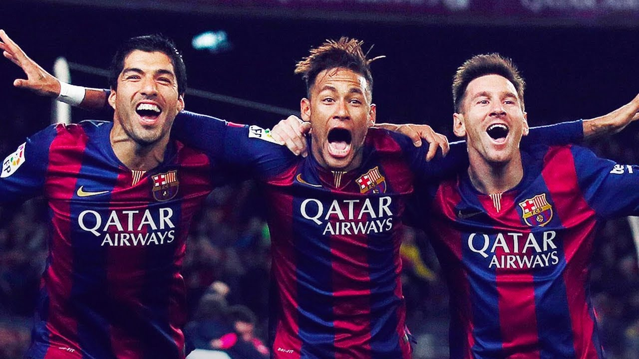 What makes Barcelona's MSN the best trio of all time? - Oh My Goal - YouTube