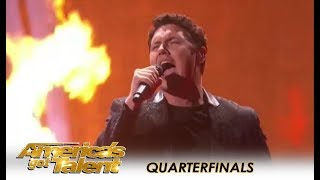Daniel Emmet: Wildcard Opera Singer SHOCKS The Judges! | America's Got Talent 2018
