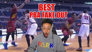 THE BEST FAKE OUT IN THE WORLD!! PBA FAKE PLAYS REACTION