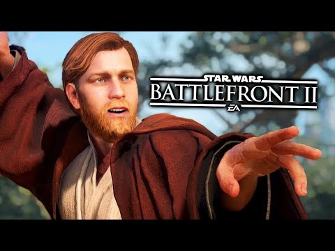 Star Wars Battlefront 2 - Funny Moments #27 Obi-Wan Kenobi thumbnail