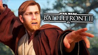 Star Wars Battlefront 2 - Funny Moments #27 Obi-Wan Kenobi