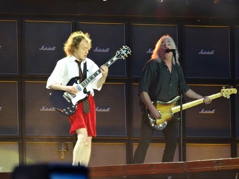 ACDC and Axl Rose  YOU SHOOK ME ALL NIGHT LG HD  Ceres Park, Aarhus, Denmark, June 12, 2016