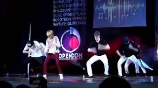 A2B | Amber - Shake That Brass | OPENCON 2015
