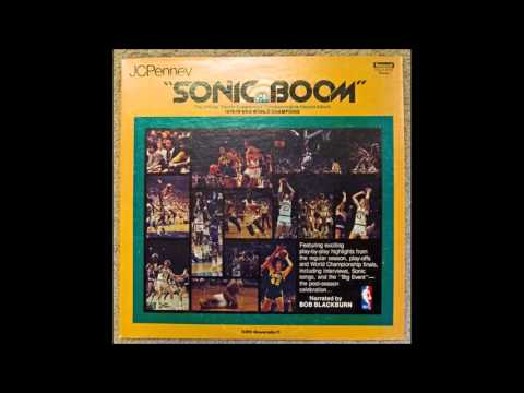 Seattle Supersonics 1978 - 1979 NBA World Champions Commemorative Album