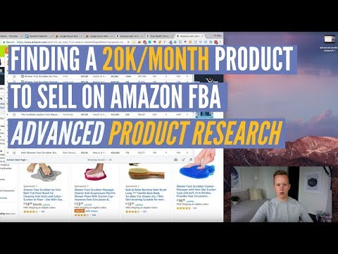 Amazon FBA ADVANCED Product Research Hacks | Finding A 20K/Month Product