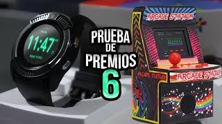 Prueba de Premios 6 - Smart Watch y Mini Arcade Station