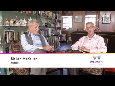 Discussing ageing in King Lear with Sir Ian McKellen