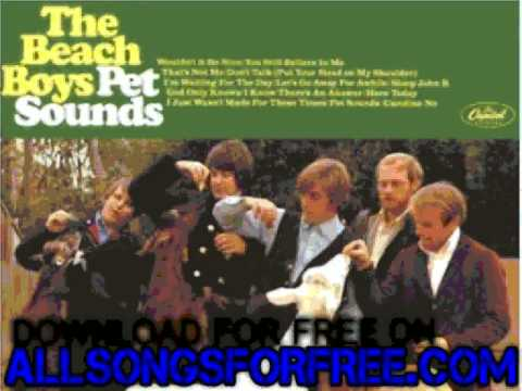 beach boys - Here Today - Pet Sounds