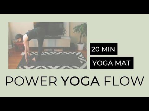 20-minute Power Yoga Flow