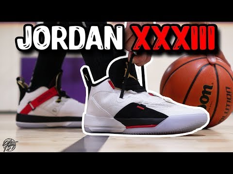 Air Jordan 33 Performance Review!