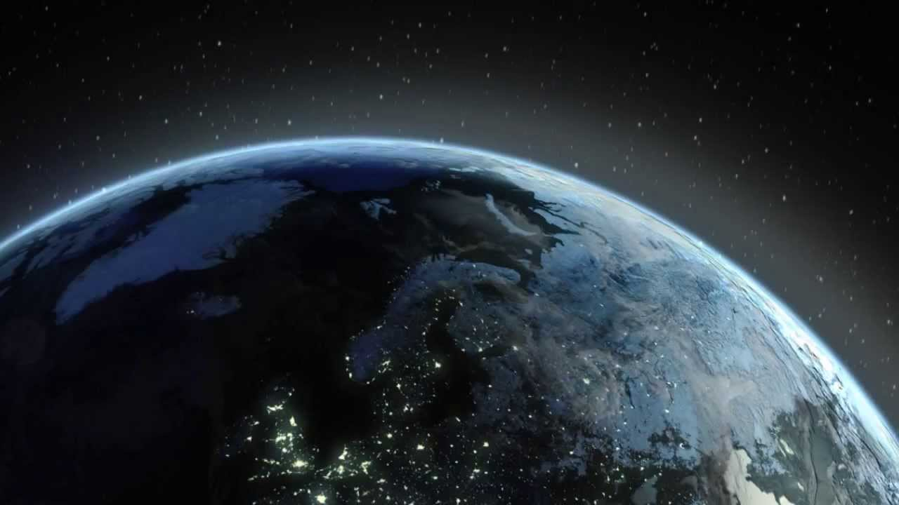 Earth At Night 3d Live Wallpaper Earth Flyover Made With After Effects Amp Element 3d Youtube