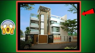MOST BEAUTIFUL Modern style house designs !! Bangladeshi & Indian style. Must watch.