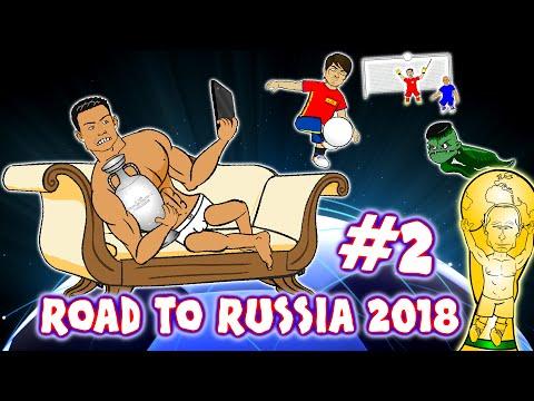 Road to Russia 2018! #2 (Spain vs Lichtenstein 8-0 Israel vs Italy 1-3 Switzerland vs Portugal 2-0)