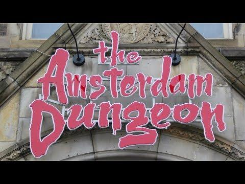 Madame Tussauds & Amsterdam Dungeon Vlog September 2018