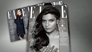 America's New It Girl, Mindy Kaling Graces the Cover of Elle