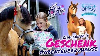 Lia & Alfi - Spirit wild und frei Abenteuer Zuhause Challenge 4 - Geschenk