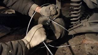 видео Как снять тормозной барабан