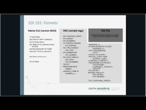 Data Masons Hosts EDI Integration Made Simple with Microsoft Dynamics GP [Webcast] from YouTube · Duration:  27 minutes 27 seconds