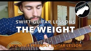 "The Band ""The Weight"" - Last Waltz Guitar lesson"