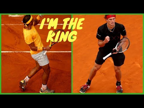 H2 - Nadal vs Sasha Zverev - Final Rome 2018 - Best Shots - Highlights