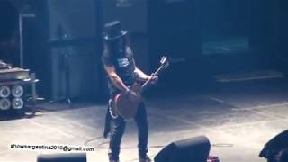 Slash en vivo - Argentina 2011 (Parte 2)