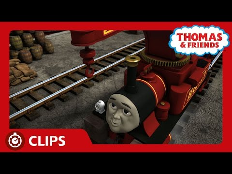 Harvey, The Really Useful Engine | Clips | Thomas & Friends