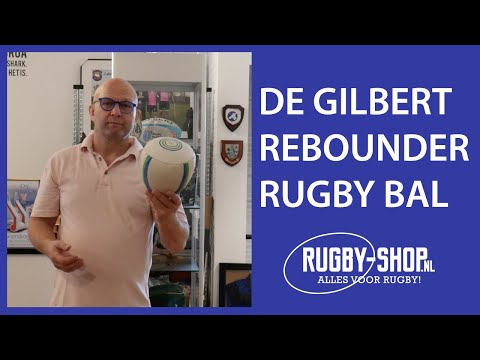 Gilbert Rebounder Rugby Trainingsbal Demonstratie