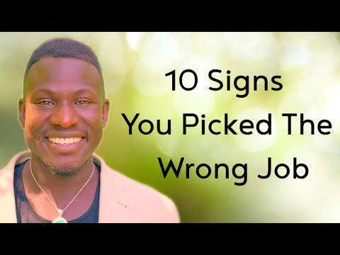 How to RECOGNIZE the RIGHT Job