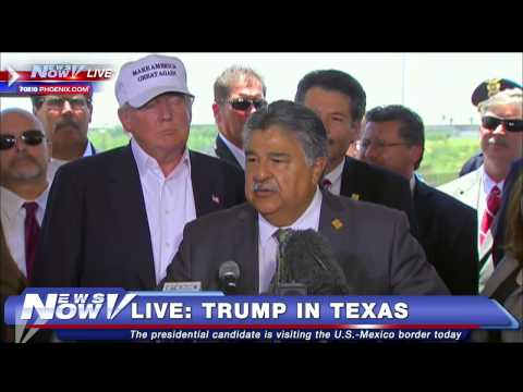 FNN: Donald Trump Press Conference in Laredo, TX During Border Visit