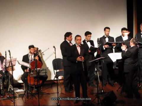 Cantor Simon Cohen Lo Amut Gottbeiter Kol Rina Choir