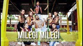 Dance Fun | MILEGI MILEGI - Stree | Bollywood Dance | Choreography - Preeti Khetan
