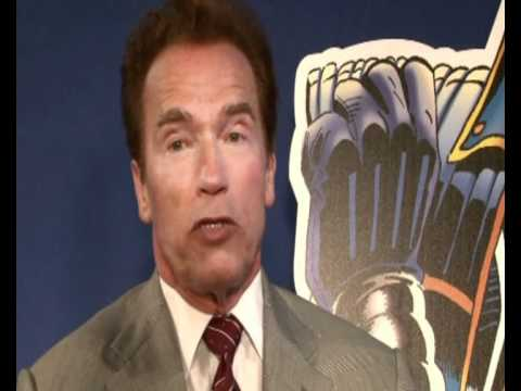Arnold Schwarzenegger interview on politics