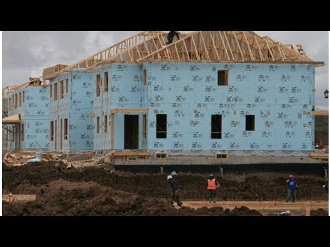 Annual pace of housing starts held steady in January