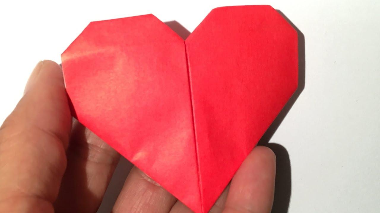 Origami Hartje Vouwen Easy Youtube