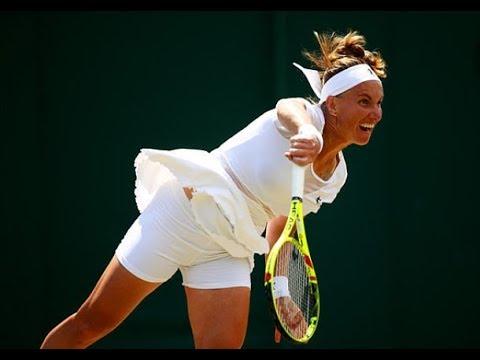 [HD] Svetlana Kuznetsova vs Agnieszka Radwanska Wimbledon 2017 Highlights