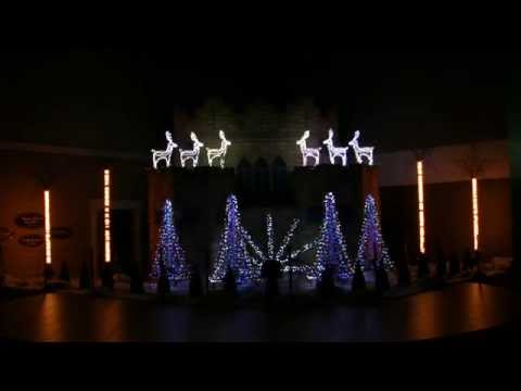 best christmas lights show 2014 12 days of christmas by straight no chaser - Chaser Christmas Lights