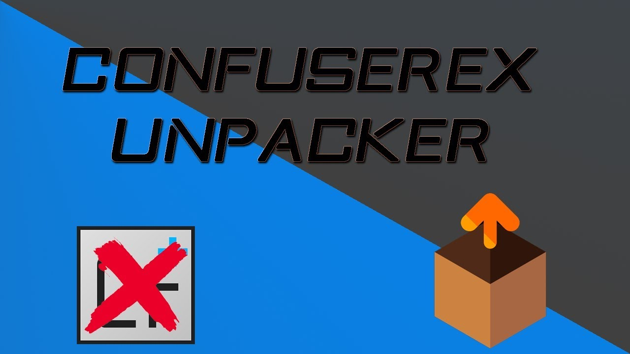 ConfuserEx Unpacker - Deobfuscate protected programs easily