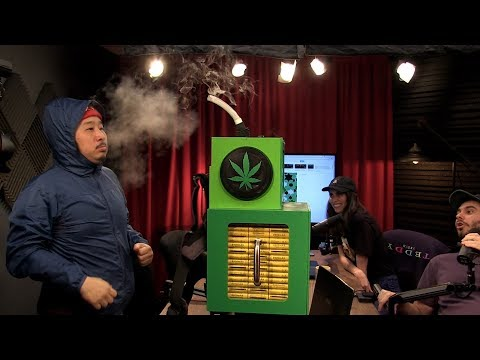 Bobby Lee Takes a Fat Vape Hit On the H3 Podcast