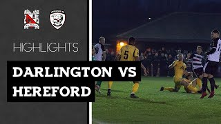 Darlington 2-2 Hereford - Vanarama National League North - 2018/19