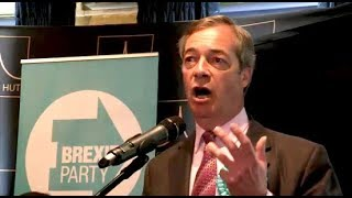 Nigel Farage: The Only Way is Brexit! - Brentwood, Essex, 16.05.2019