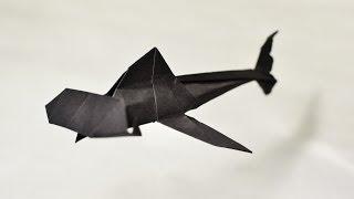 #51 Origami Hammerhead Shark By Arena Xander - Yakomoga Origami Tutorial