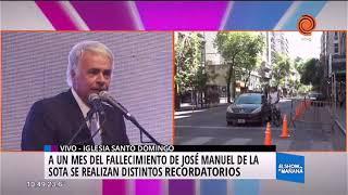 Misa en memoria de José Manuel De La Sota